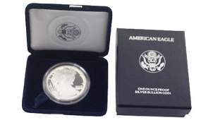 1994 P Silver American Eagle One Ounce Proof Coin