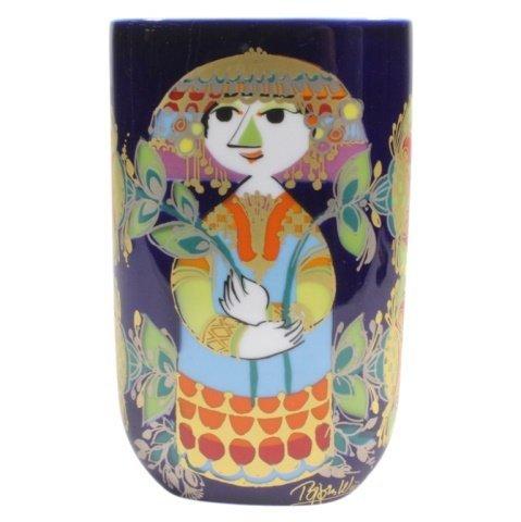 Bjorn Wiinblad Rosenthal Porcelain Vase