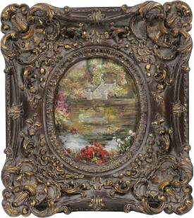 Original Decorative Oil on Canvas