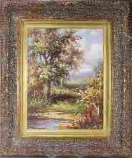 Original Oil on Canvas Landscape