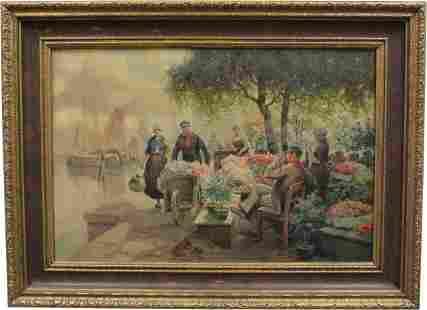 Ruldoph Alfred Hoger Oil on Canvas