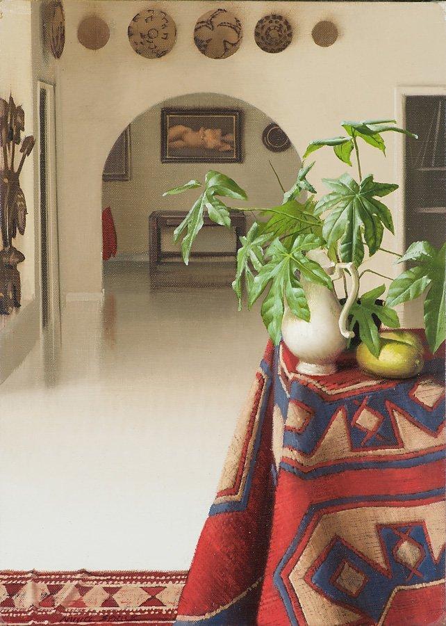 Daniel Sprick  'Interior with Navajo Blanket'