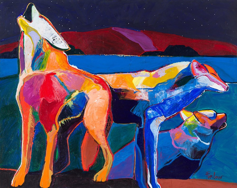 Malcolm Furlow   'Wolf Pack'