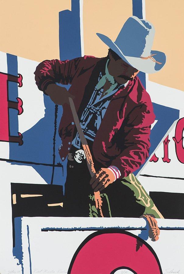 Bill Schenck 'Red Rodeo Rider'