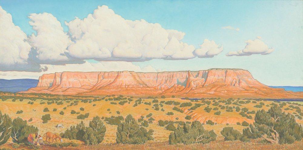 John Farnsworth 'Zuni Sacred Mountain'