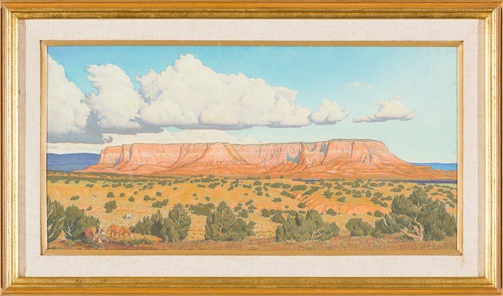 John Farnsworth 'Zuni Sacred Mountain' - 2