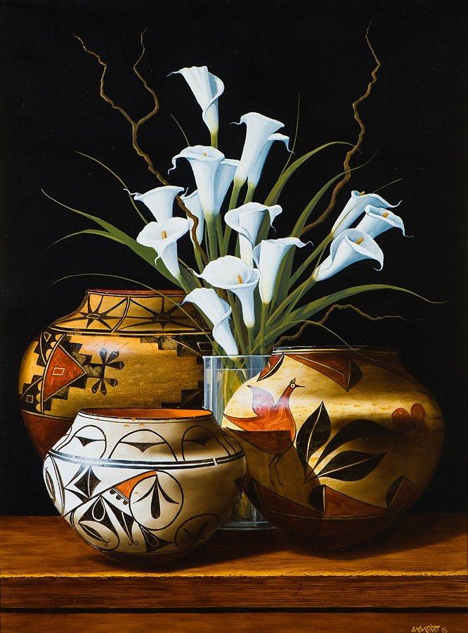 Chuck Sabatino  '15 Calla Lilies'