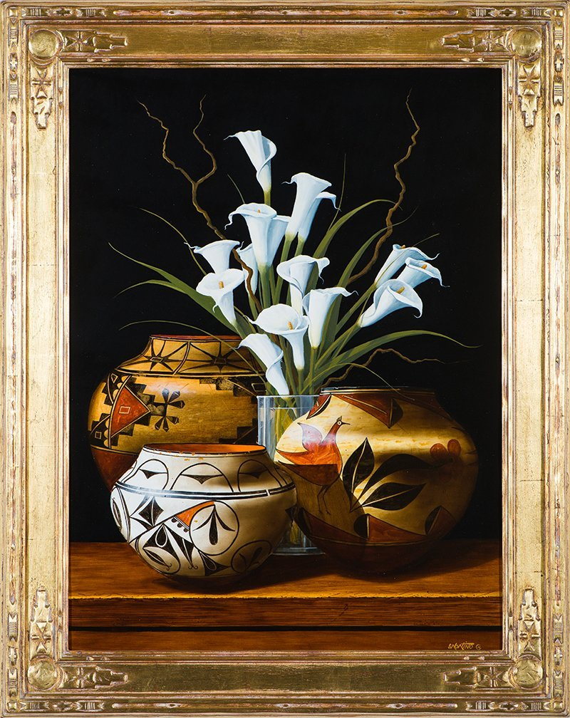 Chuck Sabatino  '15 Calla Lilies' - 2