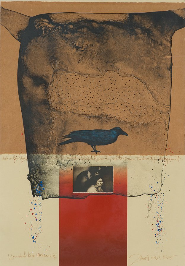 Frank Howell 'Wounded Knee Woman'