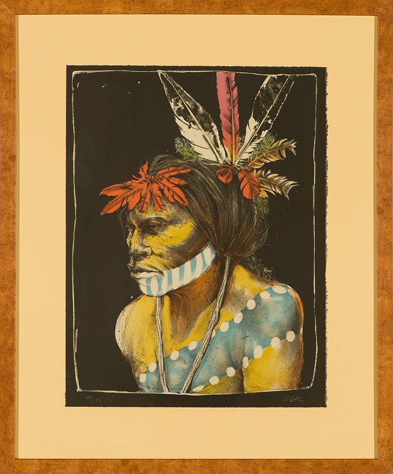 Paul Pletka  'Taos Turtle Dancer' - 2