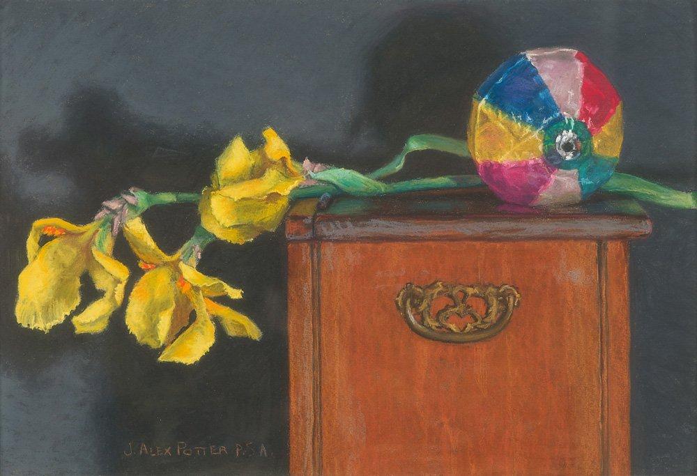 J. Alex Potter 'Paper Balloon II'