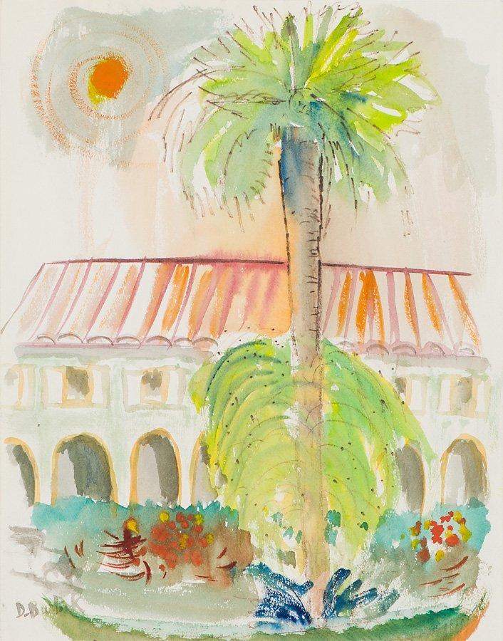David Burliuk  'Tropical Landscape'