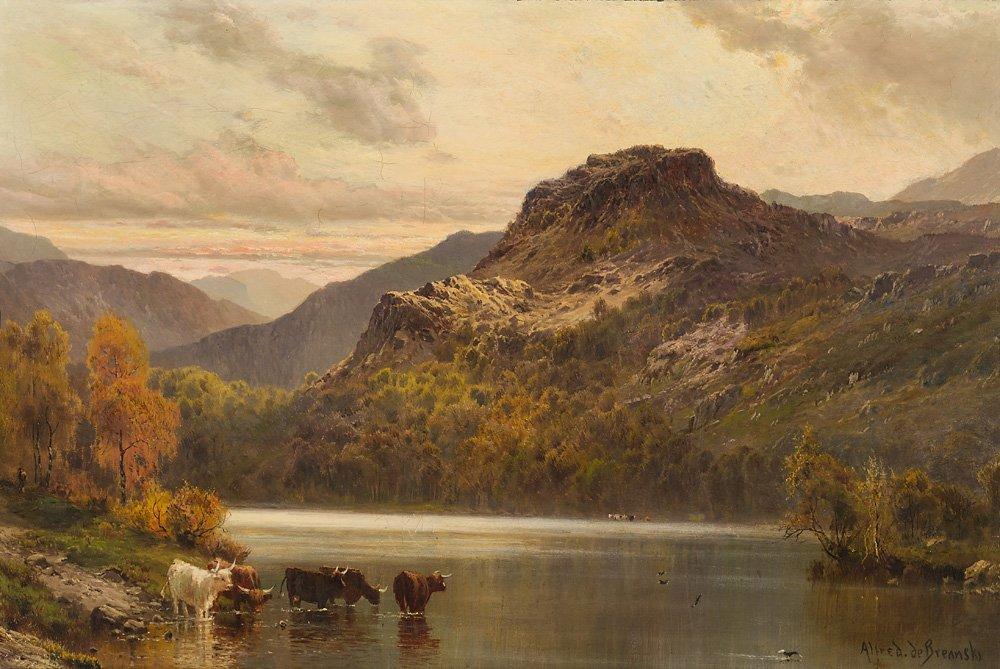 Alfred de Breanski  'Untitled Landscape'