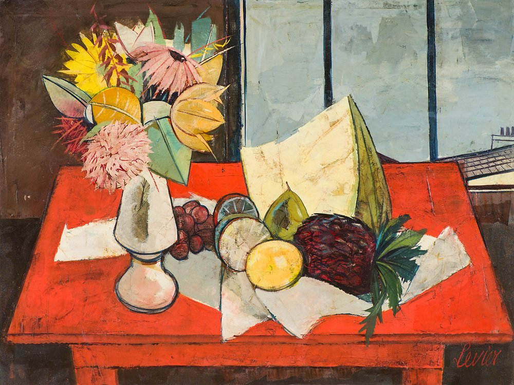 Charles Levier 'La Table Rouge'
