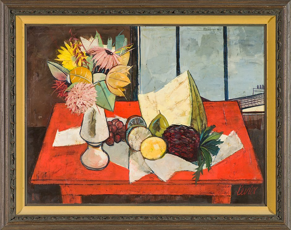 Charles Levier 'La Table Rouge' - 2