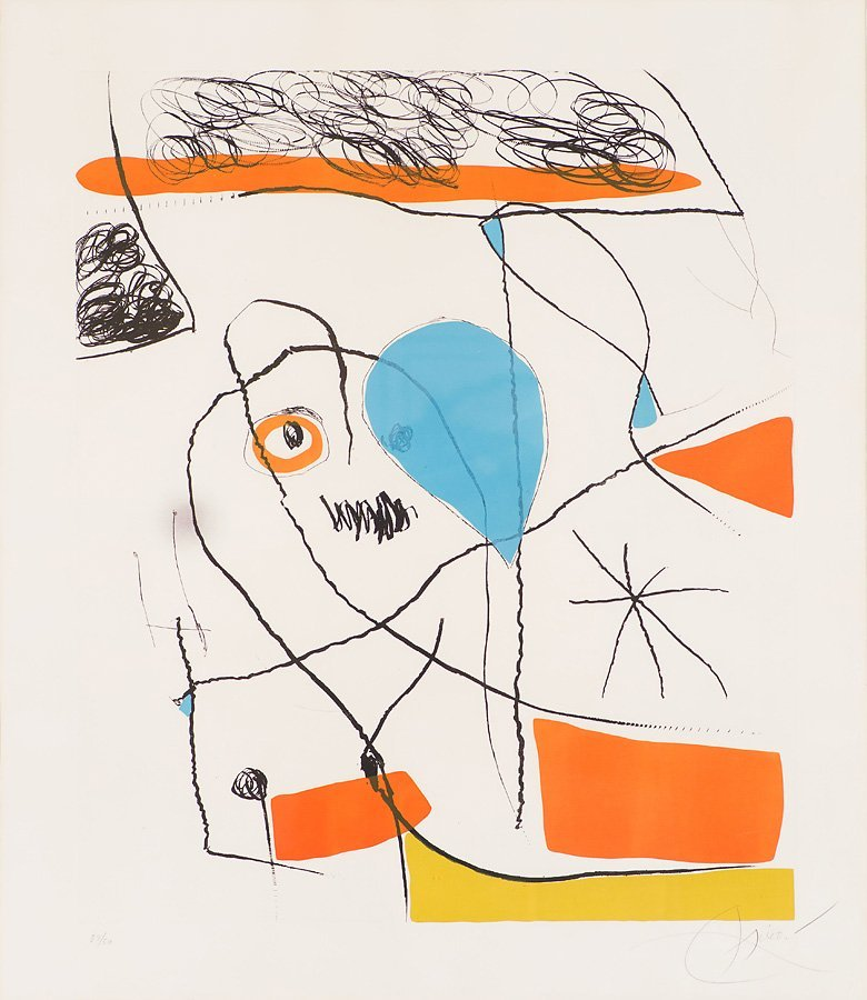 Joan Miró  'El Pi de Formentor (a)'