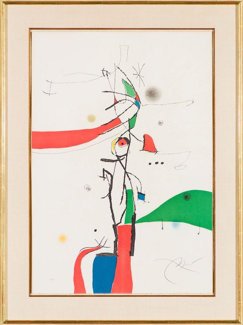Joan Miró   'Demi Mondaine À Sa Fetêtre' - 2