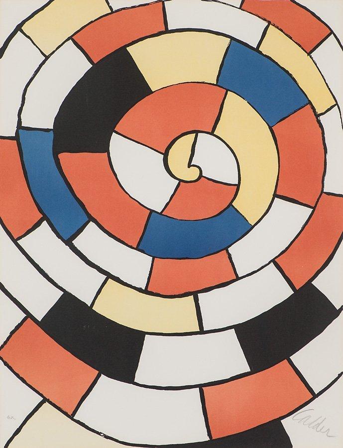 Alexander Calder  'Labyrinth'