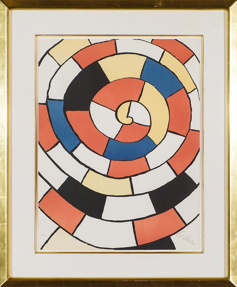 Alexander Calder  'Labyrinth' - 2