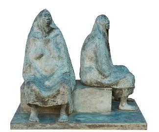 Francisco Zúñiga 'Madre e Hija Sentada'
