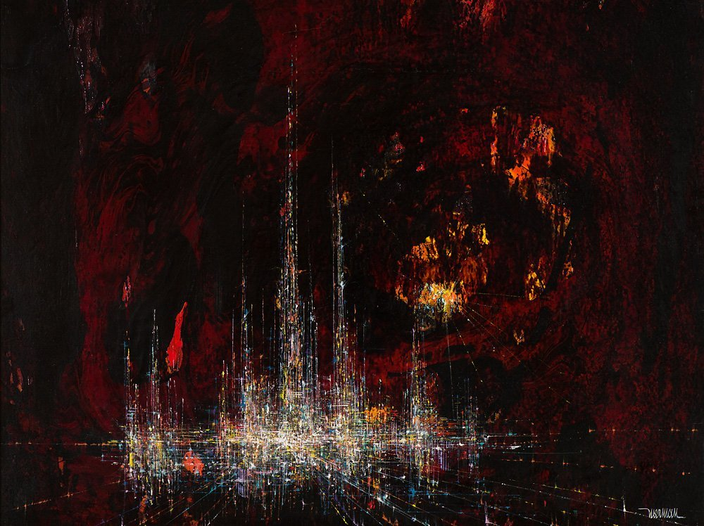 Leonardo Nierman 'City in a Cave'