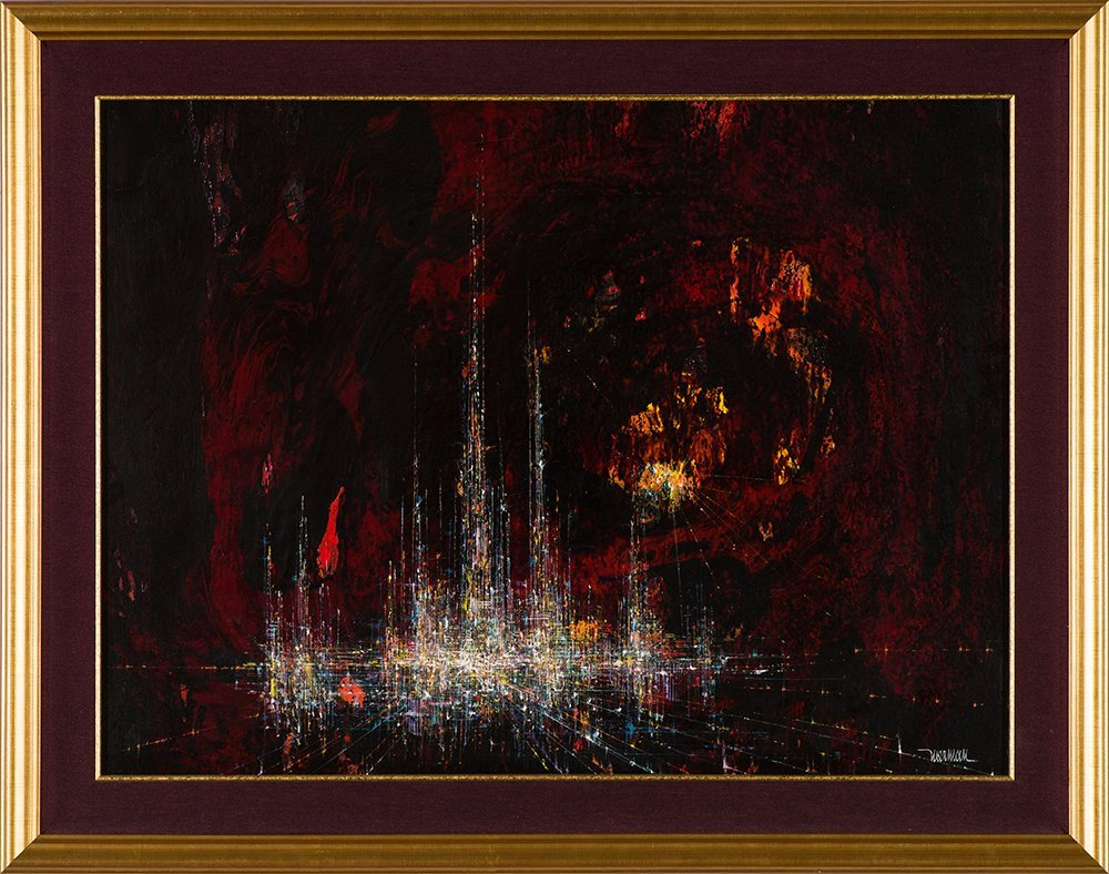 Leonardo Nierman 'City in a Cave' - 2