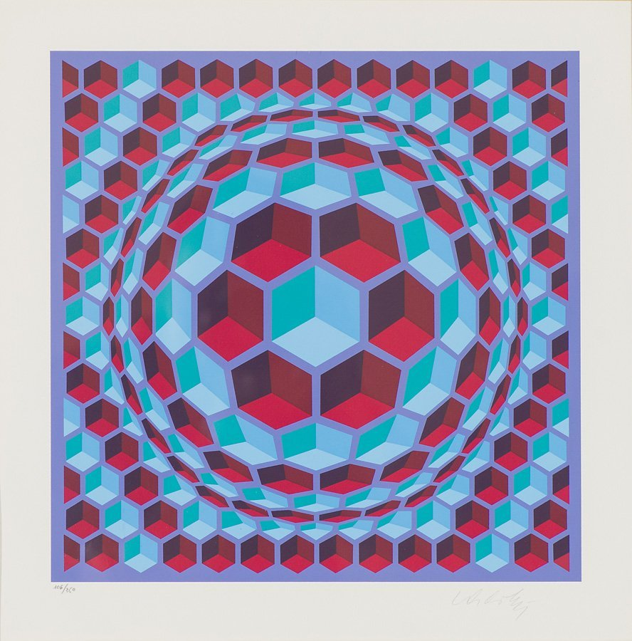 Victor Vasarely  'Untitled'