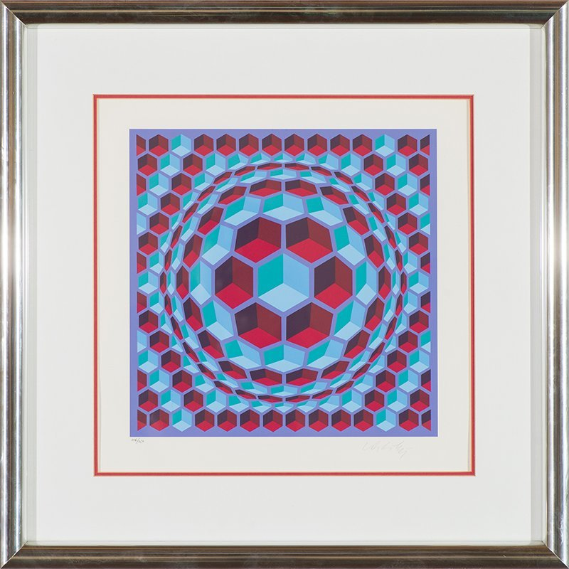 Victor Vasarely  'Untitled' - 2