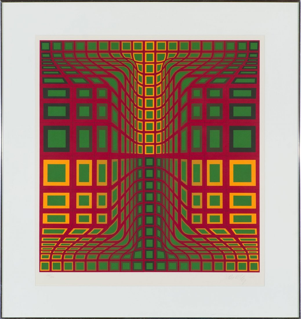 Victor Vasarely  'Kas Kas' - 2