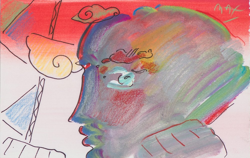 Peter Max  'Portrait of an Angel'