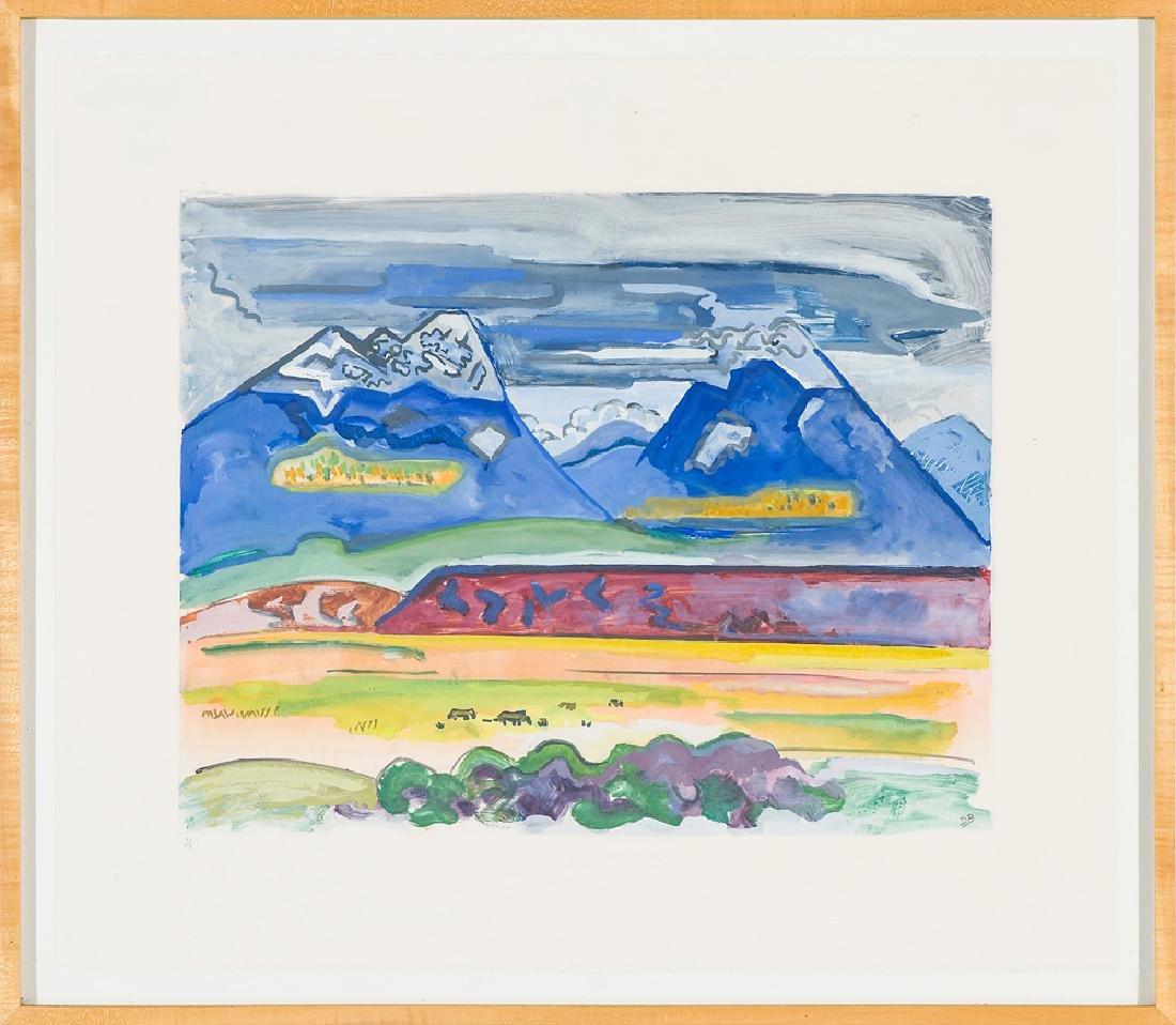 David Barbero  'San Francisco Peaks' - 2