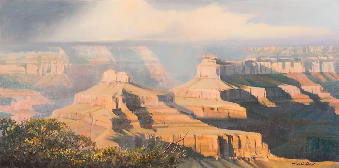 Charles Pabst 'Canyon Storm'