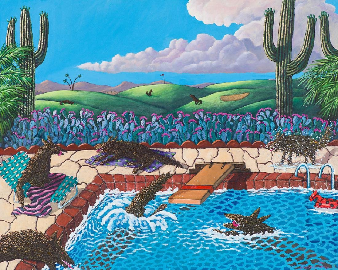 Anne Coe  'Pool Party'
