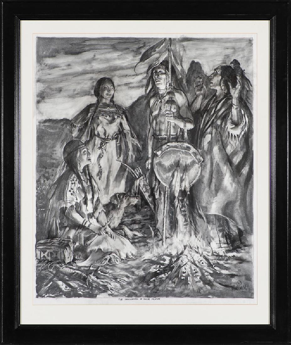 William Ahrendt 'The Invocation of Divine Favour' - 2