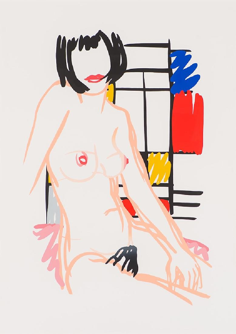 Tom Wesselmann 'Monica Sitting with Mondrian'