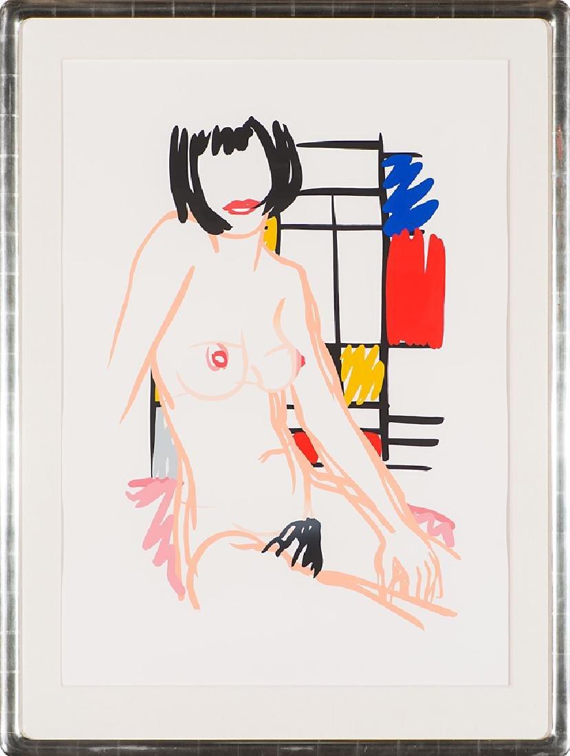 Tom Wesselmann 'Monica Sitting with Mondrian' - 2