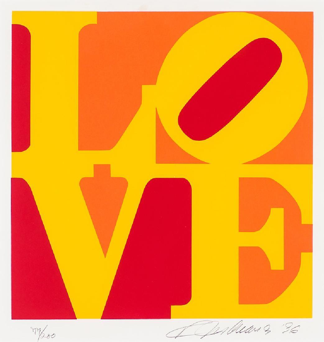 Robert Indiana 'The Book of Love'