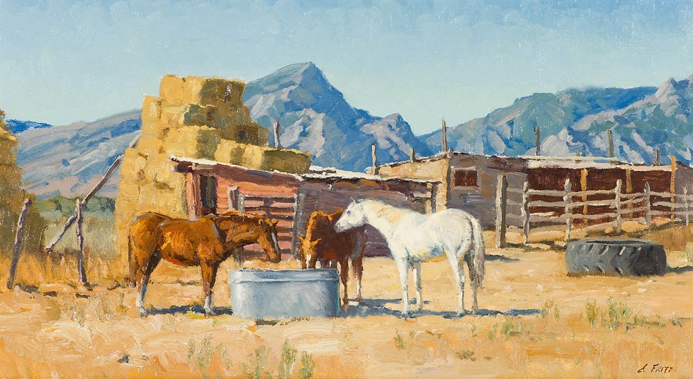 Charles Fritz Old Buildings, Young Horses