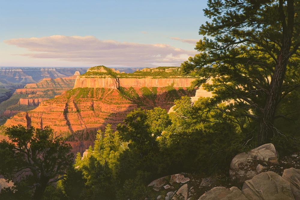 John D. Cogan Early Light - North Rim, Grand Canyon