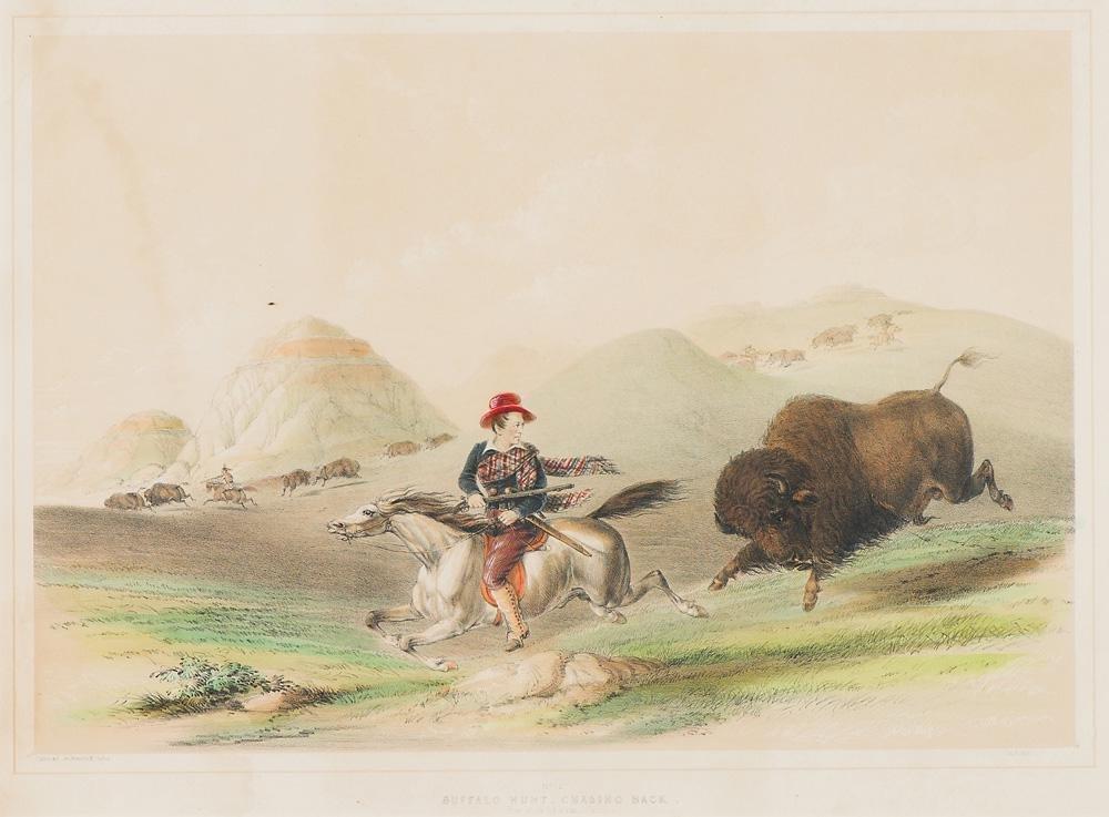 George Catlin Buffalo Hunt