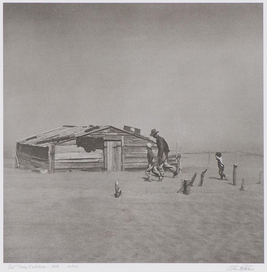Arthur Rothstein Dust Storm, Cimarron County, Oklahoma