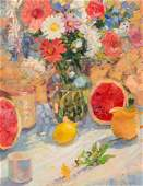Robert C. Moore Untitled (Still Life with Lemon and Wat