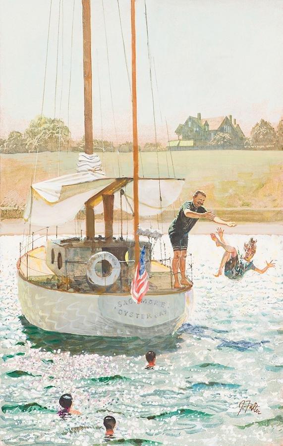John Falter Sagamore Oyster Bay