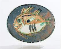Pablo Picasso Mottled Fish AR 170 GR 64