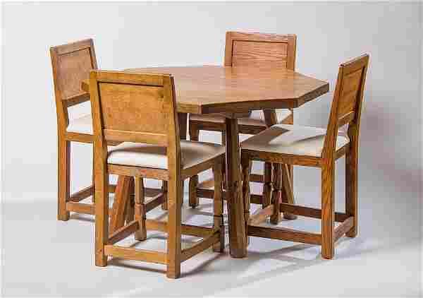 Robert (Mouseman) Thompson Custom Dining Table