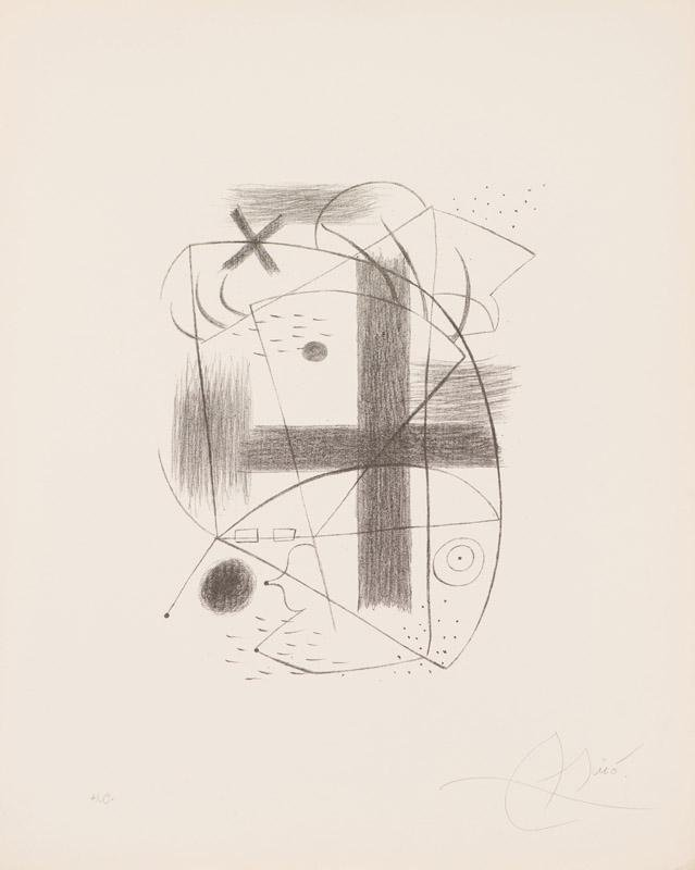 Joan Miró Lithograph II (Mourlot 1a)