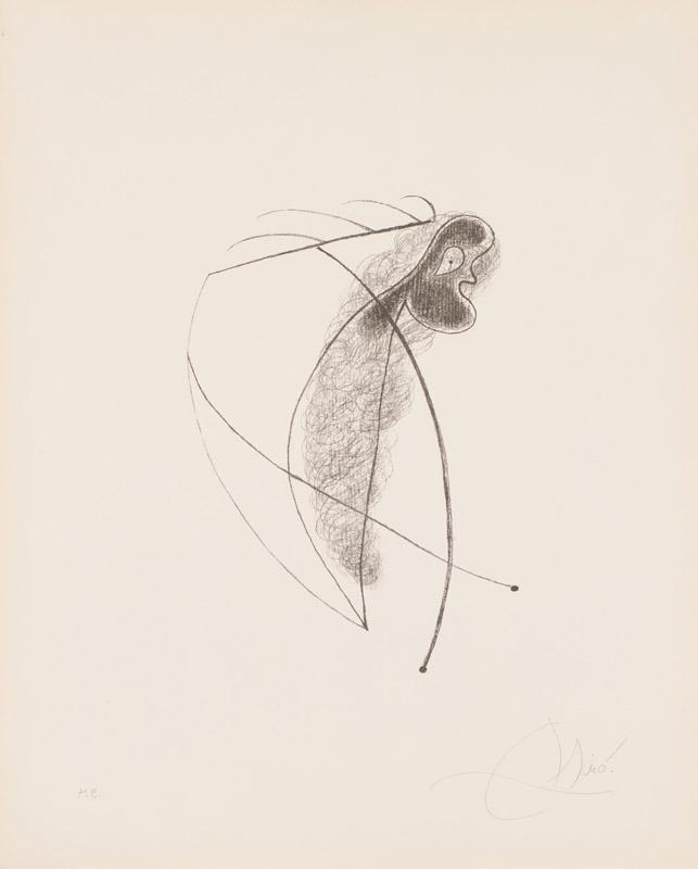 Joan Miró Lithograph III