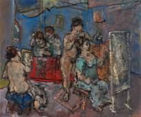 Max Weber La Toilette, 1941