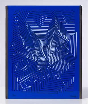Victor Vasarely  Zint, 1981