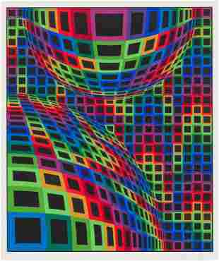 Victor Vasarely  Untitled from Album International 2